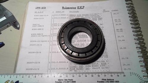 rolamento conico roda diant int. valmet 62/65/85 id timken