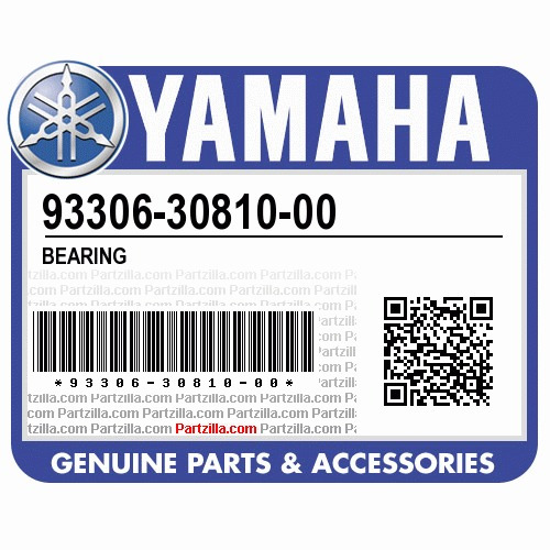 rolamento do virabrequim yamaha raptor grizzly 93306-30810