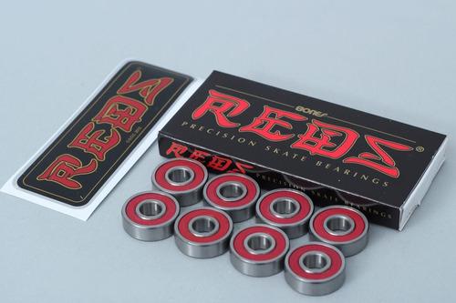 rolamento reds bones skateboards original promo imperdivel