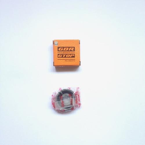 rolamento roda honda nr 200 nx 200 xr 200r kit 04 peças