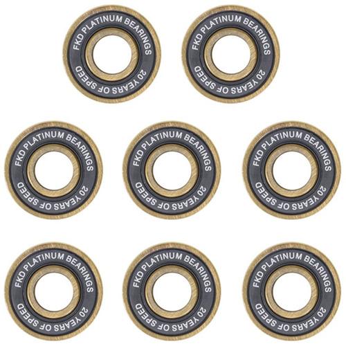 rolamento skate fkd 20 years platinum edição especial abec 7