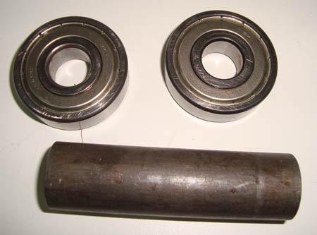 rolamentos e especador roda traseira suzuki gs500