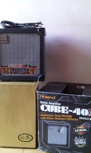 roland cube 40xl. como nuevo