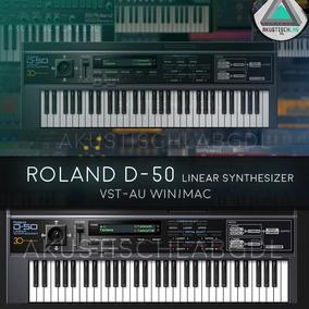 Roland D50 Linear Synthesizer Pc | Mac Vst Plug Ins