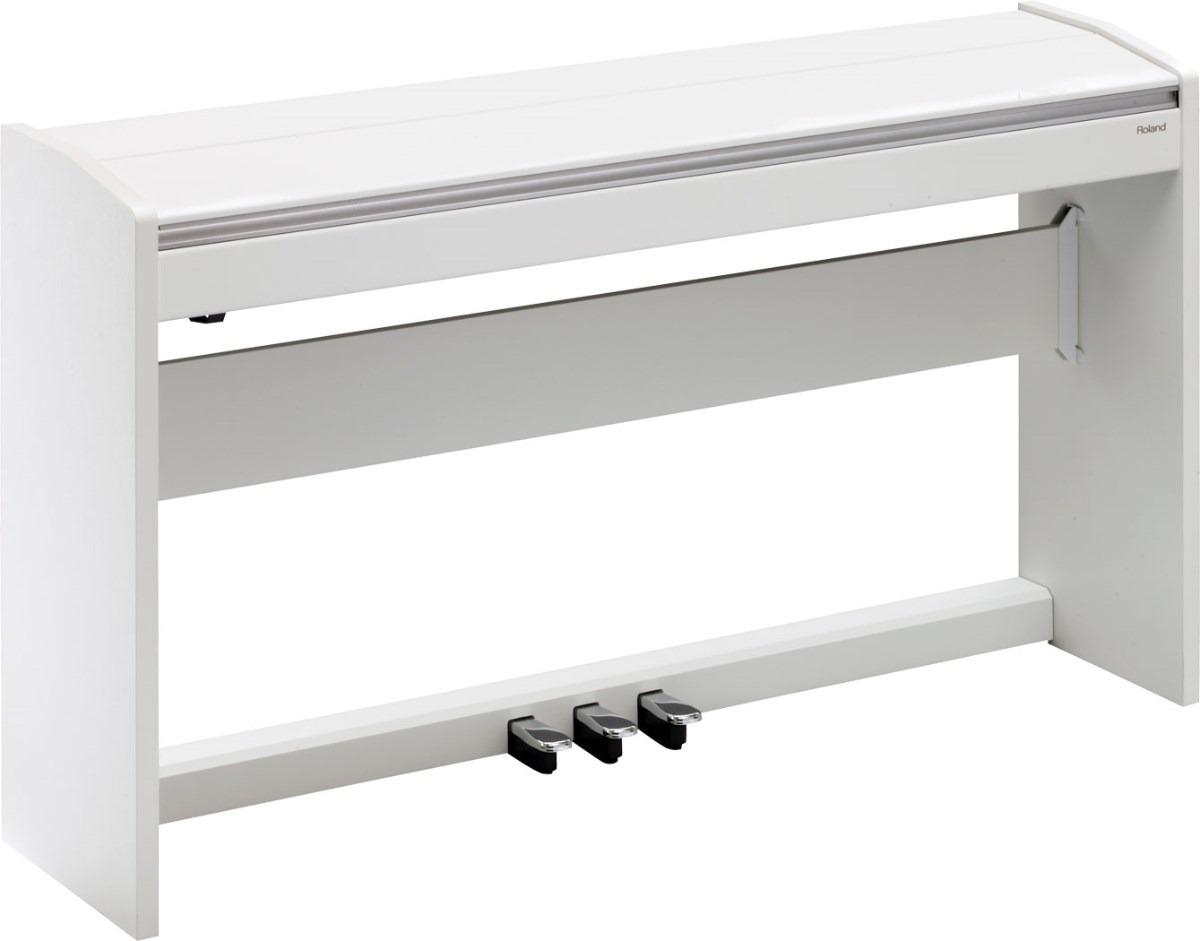 Roland F120 Piano Digital 88 T Acc Martillo Con Mueble  # Muebles Digitales