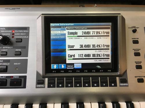 roland fantom x6 61-key keyboard