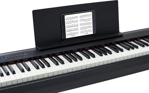roland fp-30  piano digital de 88 teclas negro y blanco