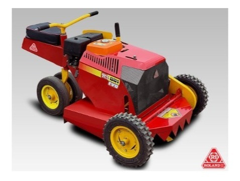roland h001 evo con motor lüsqtoff 13 hp arranque eléctrico