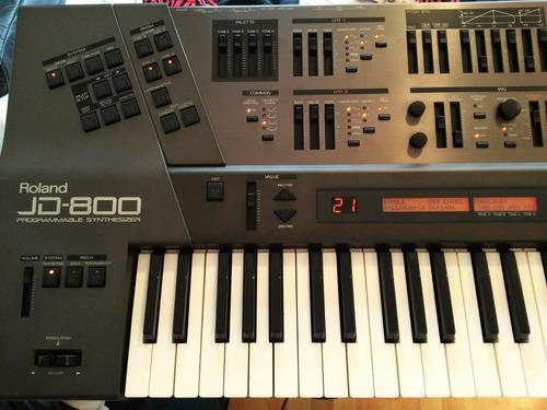 roland jd800 - sinte sonidos analogicos