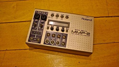 roland mmp-2 pré ampl.