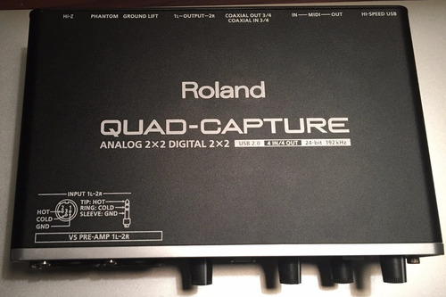 roland quad-capture ua-55