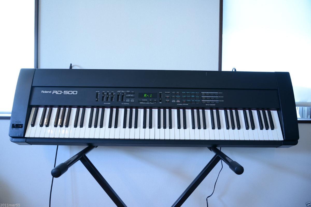 Piano Digital Roland Rd 500 : roland rd 500 rd 500 piano digital 88 teclas u s 1 en mercado libre ~ Vivirlamusica.com Haus und Dekorationen