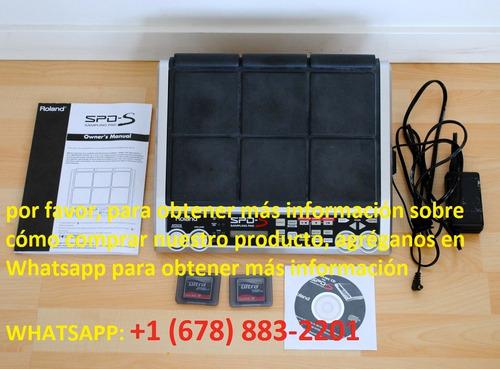roland spd-s batería almohadilla