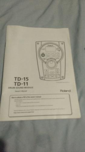 roland td-11 practicamente nuevo