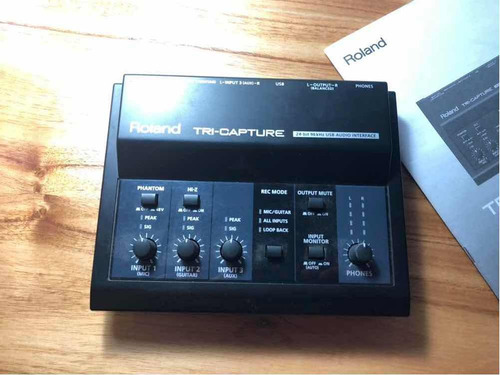 roland tri capture ua33  usb