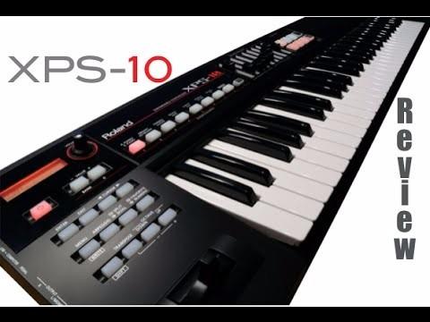 Roland Xps-10 Teclado Sintetizador Xps10 61 Teclas Usb Xps