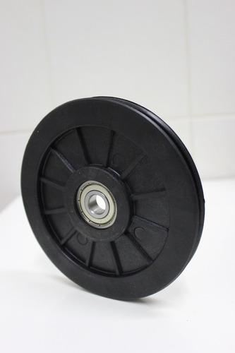 roldana 125mm para equipamentos de muscualção