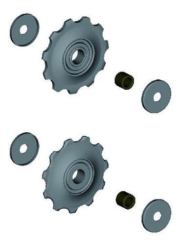 roldana câmbio shimano acera alivio deore m430 todos 9v 10v