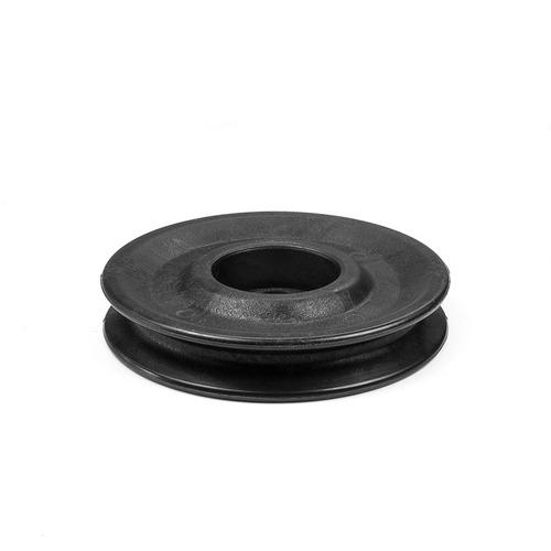 roldana em nylon 110mm c/ rolamento fitness polia