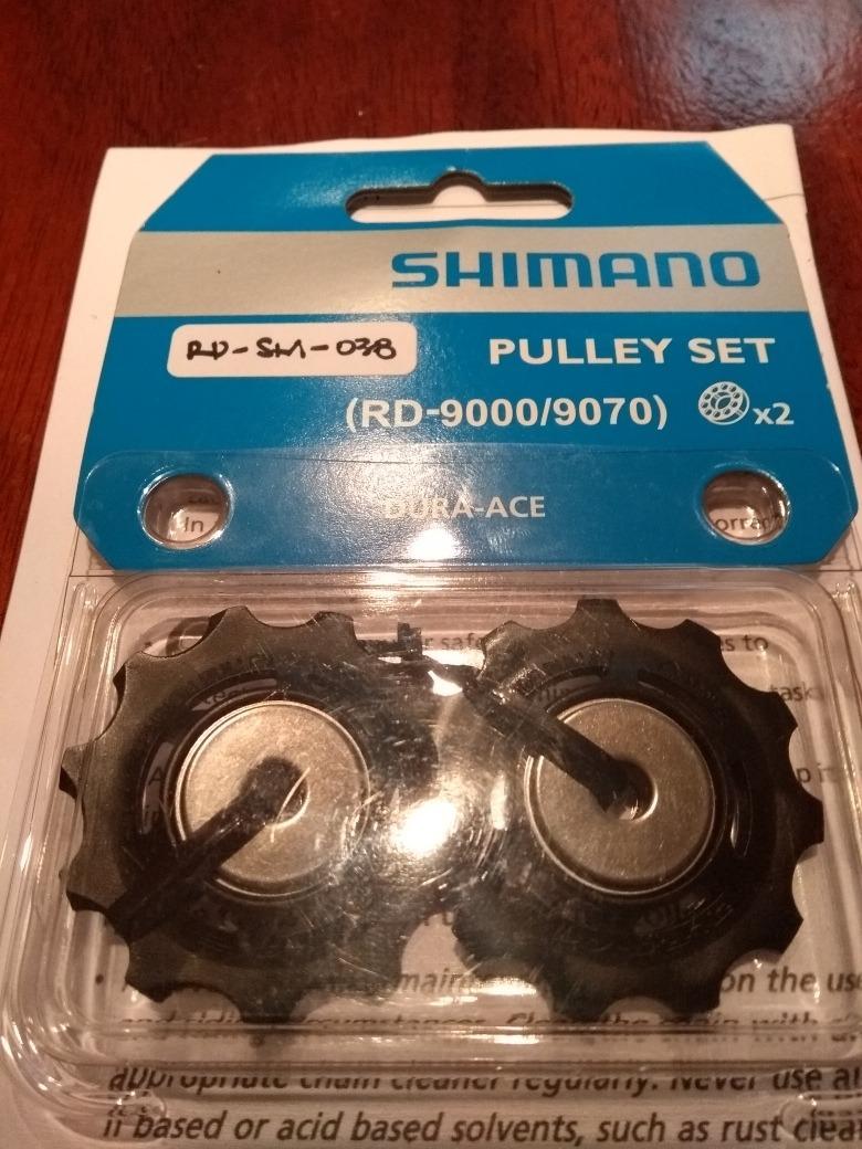 dd8fc772ac9 Roldana/pulley Ceramica Set Shimano Dura Ace 9000 11v - R$ 250,00 em ...