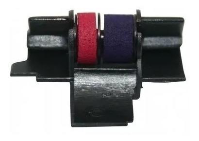 rolete entintador ir40t ( 1009 )  preto/vermelho 05 unidades