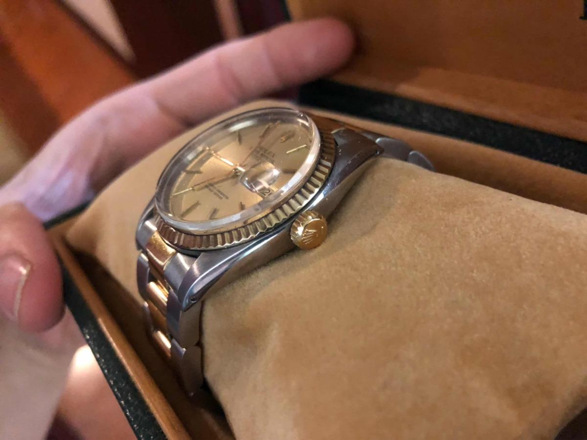 a0abe322ca1 rolex 36mm ouro e aço original ref. 16.013. Carregando zoom.