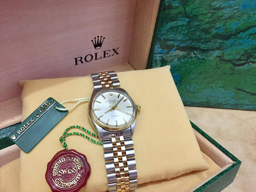 rolex air king acero oro precision hermoso vintage sub yacht