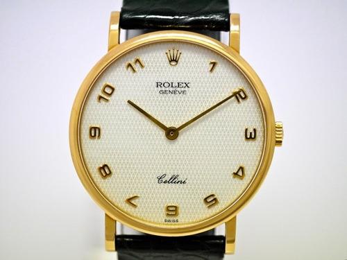 rolex cellini 5112 oro macizo 18k con papeles gtia factura