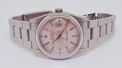 rolex date just 36 mm zerado