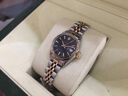 rolex date lady acero & oro jubilee autentico