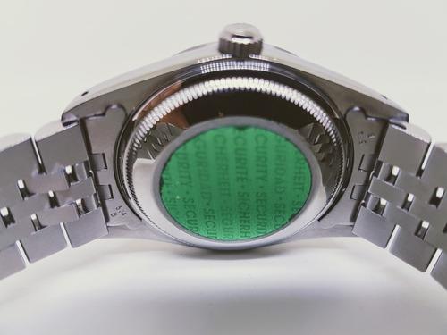 rolex date safira 34 mm impecavel