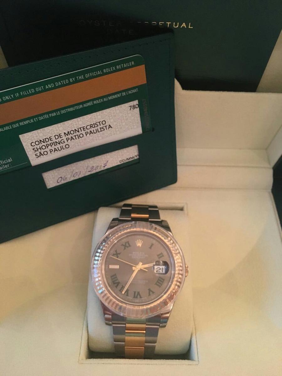 1bff1ded6bd Rolex Datejust 2 41mm Lacrado Aceito Troca - R  33.500