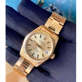 Rolex Datejust 31mm Todo De Ouro 18k , Champagne Dial !!!