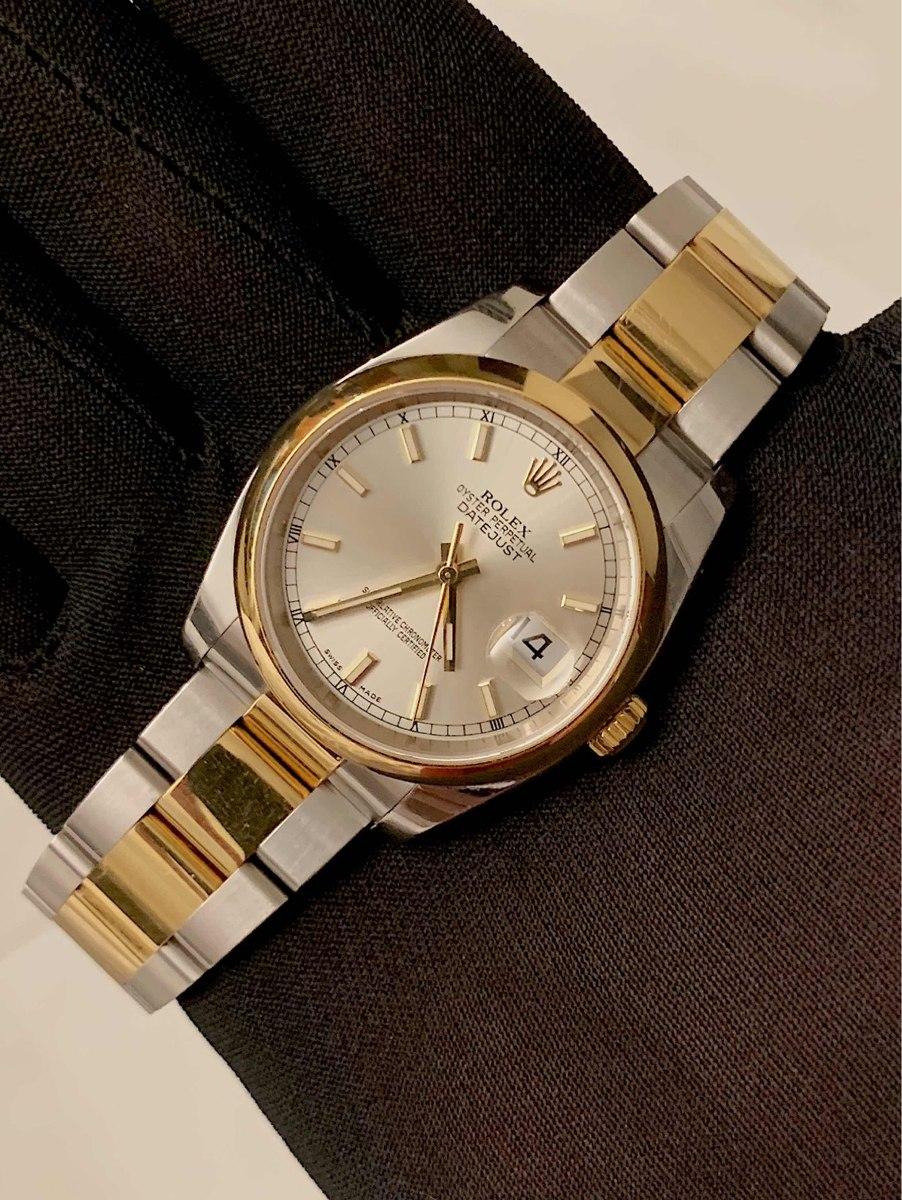 44522639320 Rolex Datejust 36mm Aço E Ouro Modelo Novo