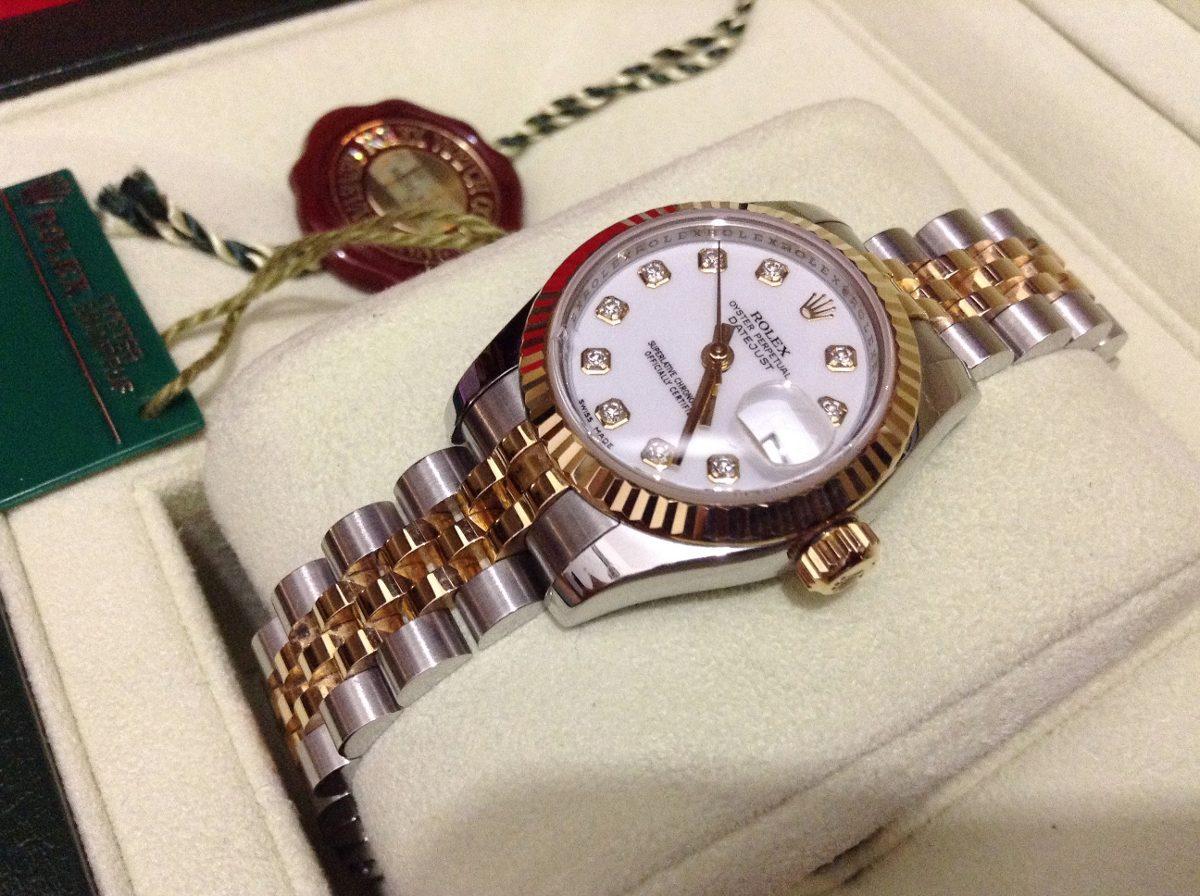 Rolex Oro Diamantes