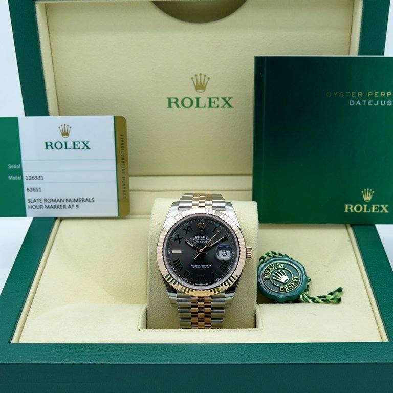 1a7267ac0d12b Rolex Datejust Acero Y Oro 18 K Numeros Romanos Año 2018 ...