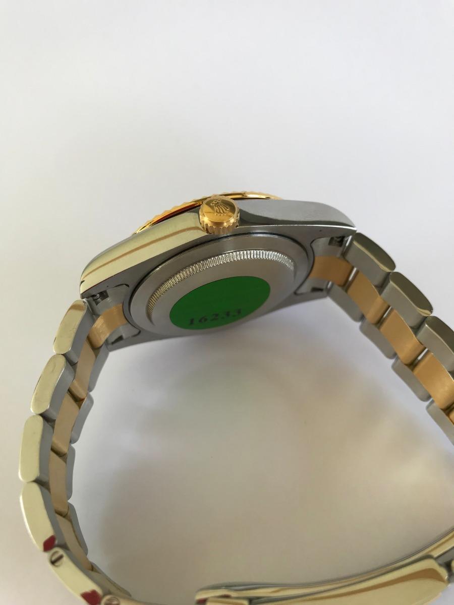 Rolex Datejust Ii Dos Tonos Gris Numeros Romanos 40mm R96