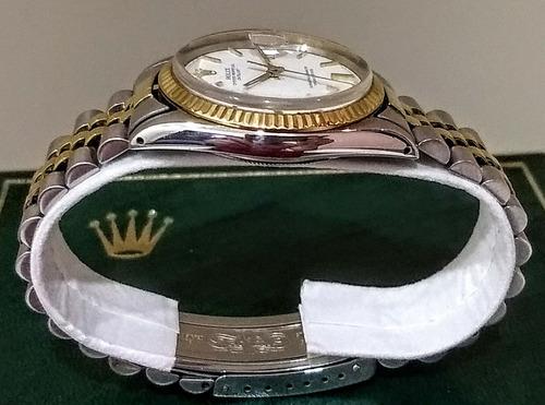 rolex datejust oro acero vintage de coleccion año 1967