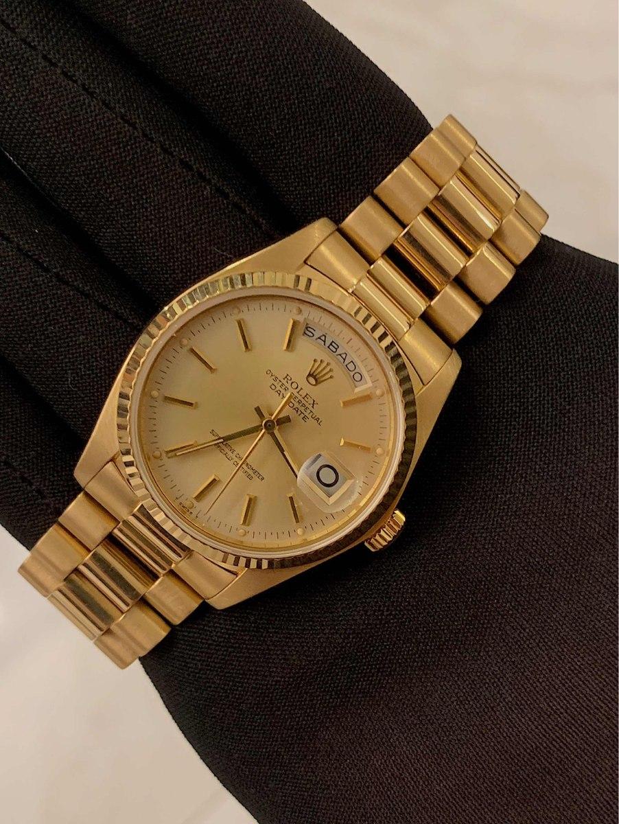 657307398bd Rolex Day date President Todo De Ouro