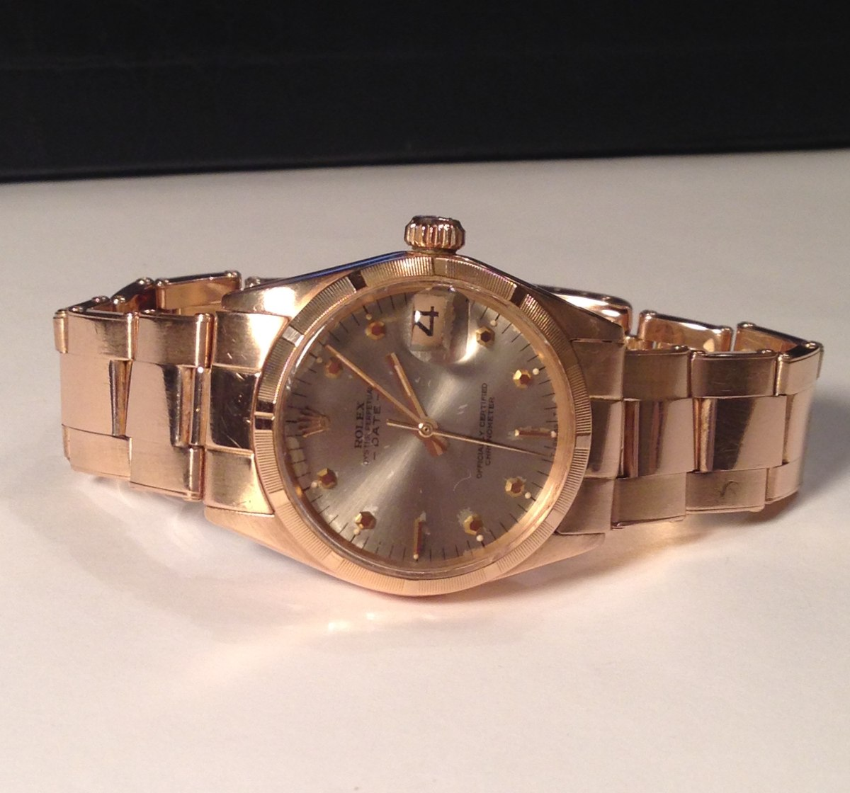 7f45b8f52d7 rolex dayjust ouro 18k automatic 80 gramas  31 mm . Carregando zoom.