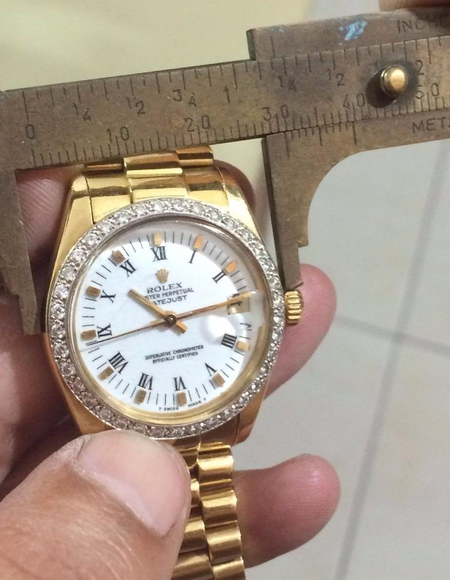 94f7ba39b1e Rolex De Ouro Pulseira Presidente Original