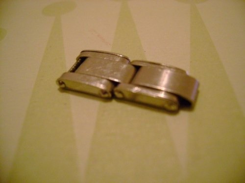 rolex elos de pulseira feminina oyster rivet anos 60 / 70