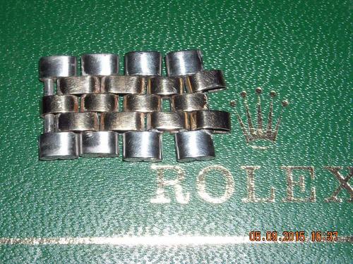 rolex eslabones malla jubilee combinado acero/oro $ x unidad