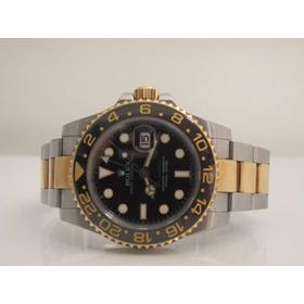 Rolex Gmt Aco E Ouro Completo 2014