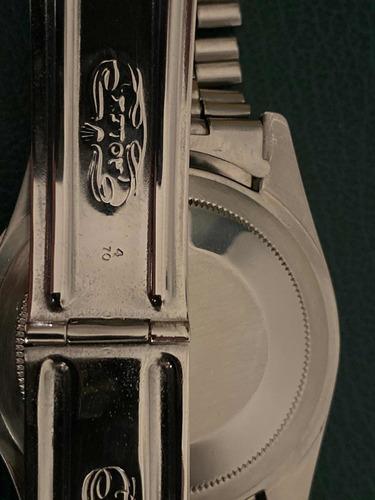 rolex gmt master ref. 1675, ano 1970, com caixa.
