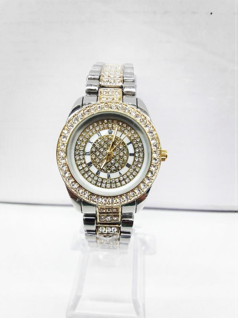 Rolex Mujer Elegante Dama Acero Excelente Calidad En Caja ... 017688de577c