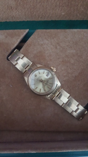 rolex oyster perpetual date just oro