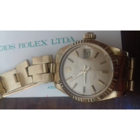 Rolex Oyster Perpetual Ouro 18k 20mm