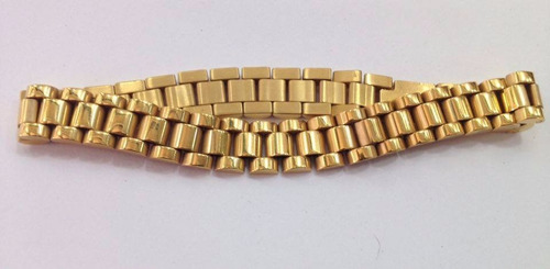 rolex pulsera original oro laminado 22k hilo enviogratis