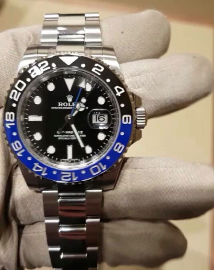 8c9770529dd Rolex Relógio Oyster Gmt Master 2 40mm